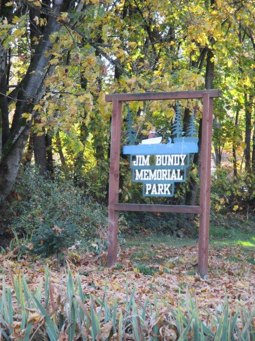 Jim Bundy Park Sign